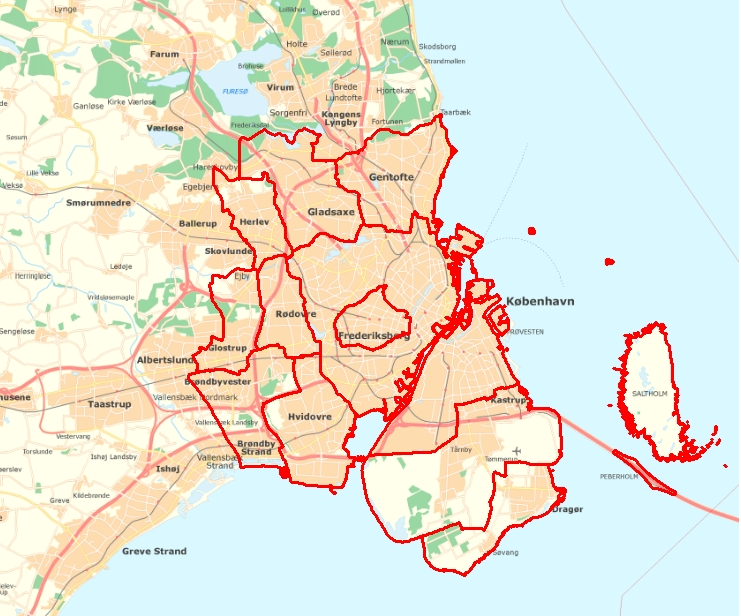 GIS kort - Eksempler - Vektor